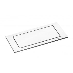 EVOline® BackFlip - 2 stikk + 1 USB lader - MATT HVITT STÅL