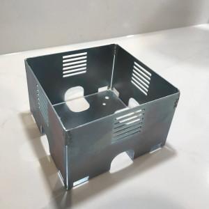 ASA INTERNATIONAL - VersaHit Dual Veggboks i aluminium - For montering i vegg eller gulv - Stainless steel